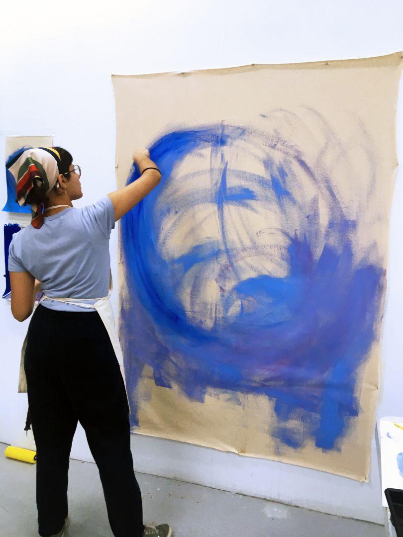 Margarida Pinheiro, MA Fine Art: Painting, Camberwell College of Arts © Francisco Timóteo