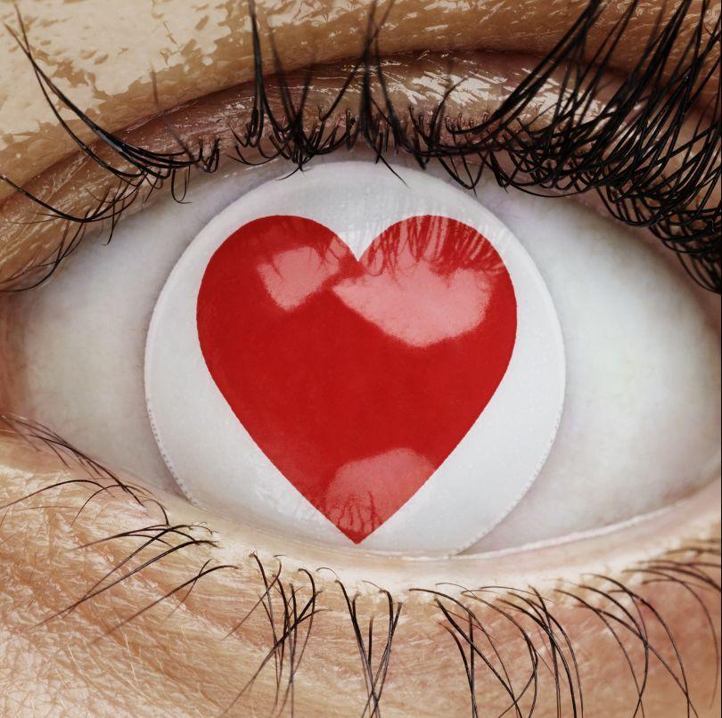 Look of Love, British Heart Foundation, 2017 © Rankin