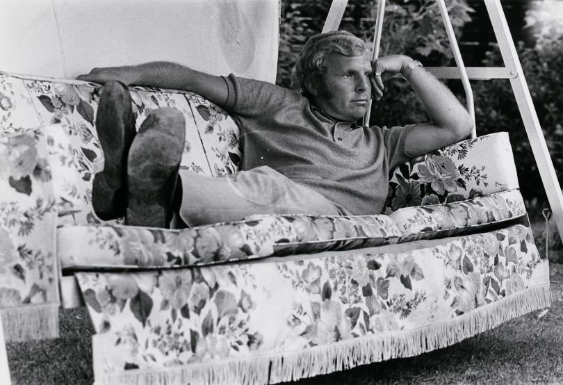 Bobby Moore by an unknown photographer for the Daily Sketch, early 1970s