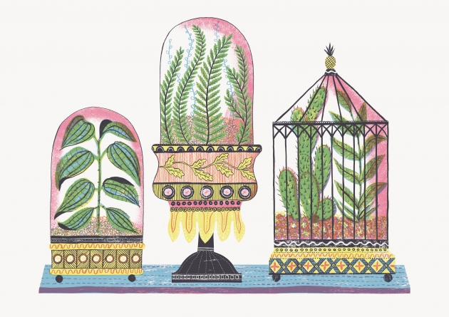 Alice Pattullo Wardian Cases, 2016 Courtesy the artist