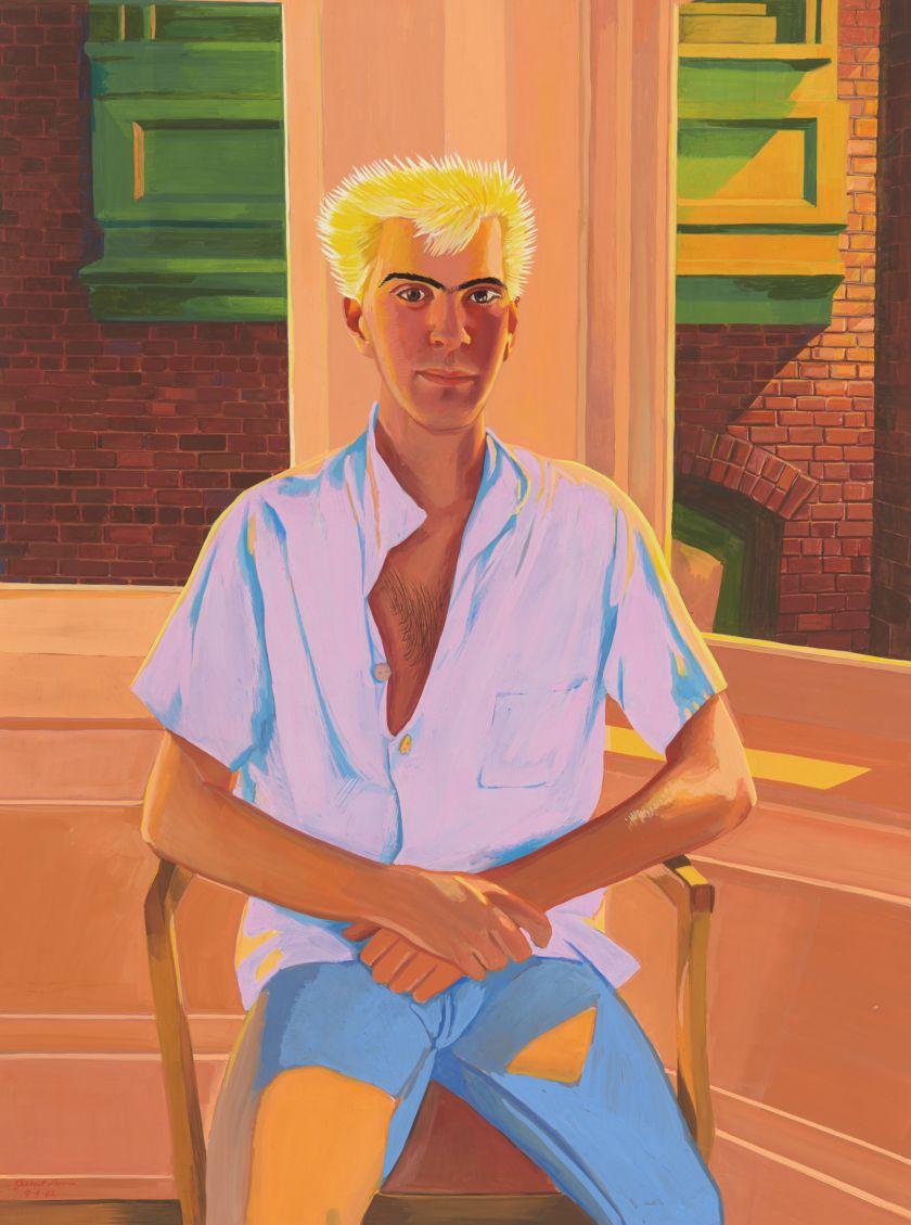 Lewis, Untitled (Technicolor Portrait), 1982
