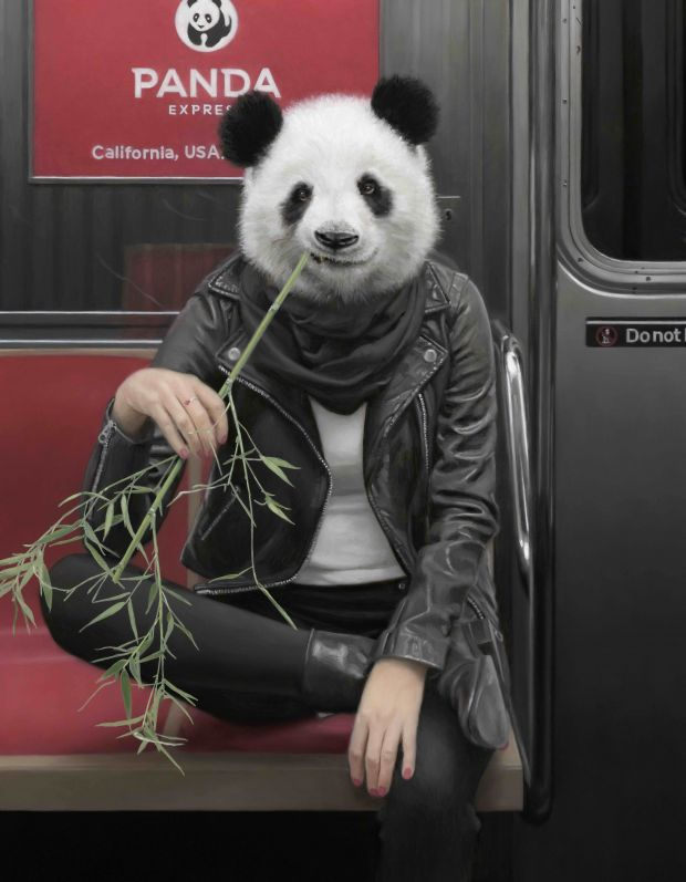 The Panda Express © Matthew Grabelsky. All images courtesy of the gallery and artist