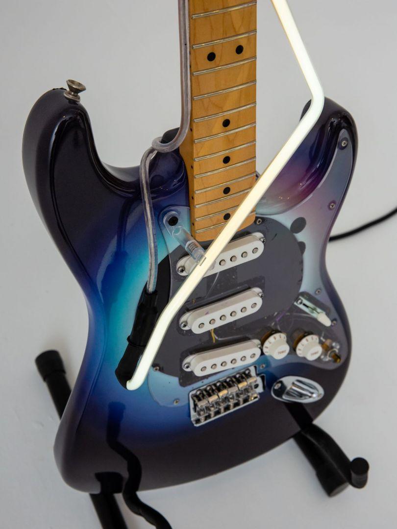 Guitar by Lauren Baker. Image © Louise Haywood-Schiefer