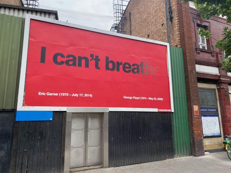 I Can't Breathe by Greg Bunbury