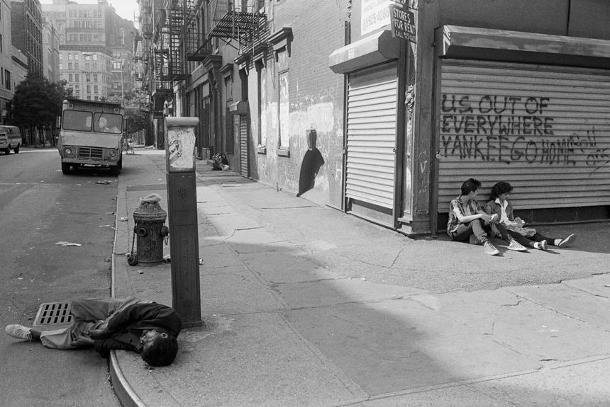 Bowery & Bleecker Street 1981 | © Edward Grazda