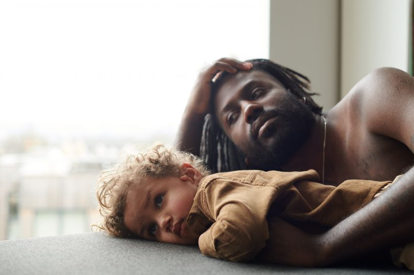 Joe and Eli – From the series, Present Fathers © Sophie Harris-Taylor
