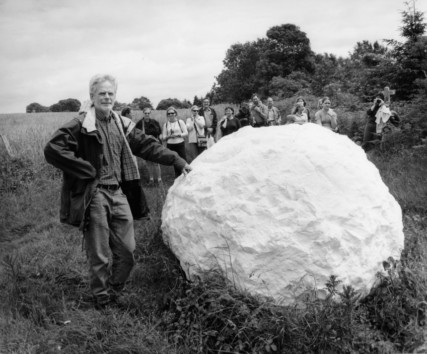 Anne Purkiss Andy Goldsworthy, 2002. © Anne Purkiss