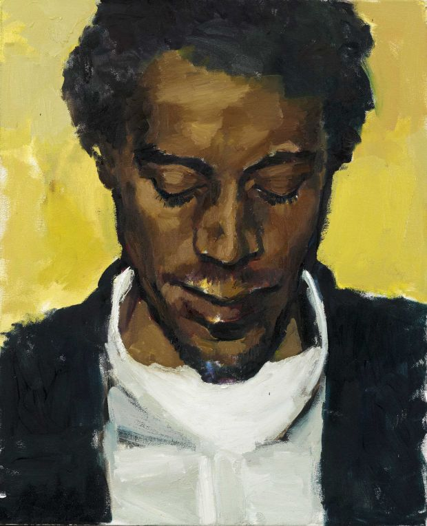 Lynette Yiadom-Boakye – Citrine by the Ounce 2014 Private Collection © Courtesy of Lynette Yiadom-Boakye