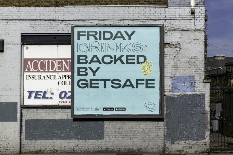 DesignStudio's 'imperfect' rebrand for Getsafe