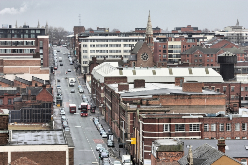 A view of the industrial back streets of Digbeth. Image Credit: [Shutterstock](http://www.shutterstock.com/)