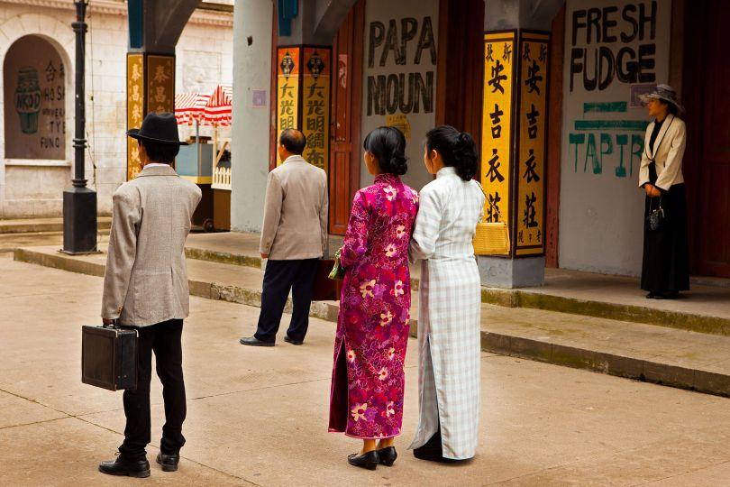 Waiting for Action, Guangzhou and Hong Kong Streets, Hengidan World Studios © Mark Parascandola