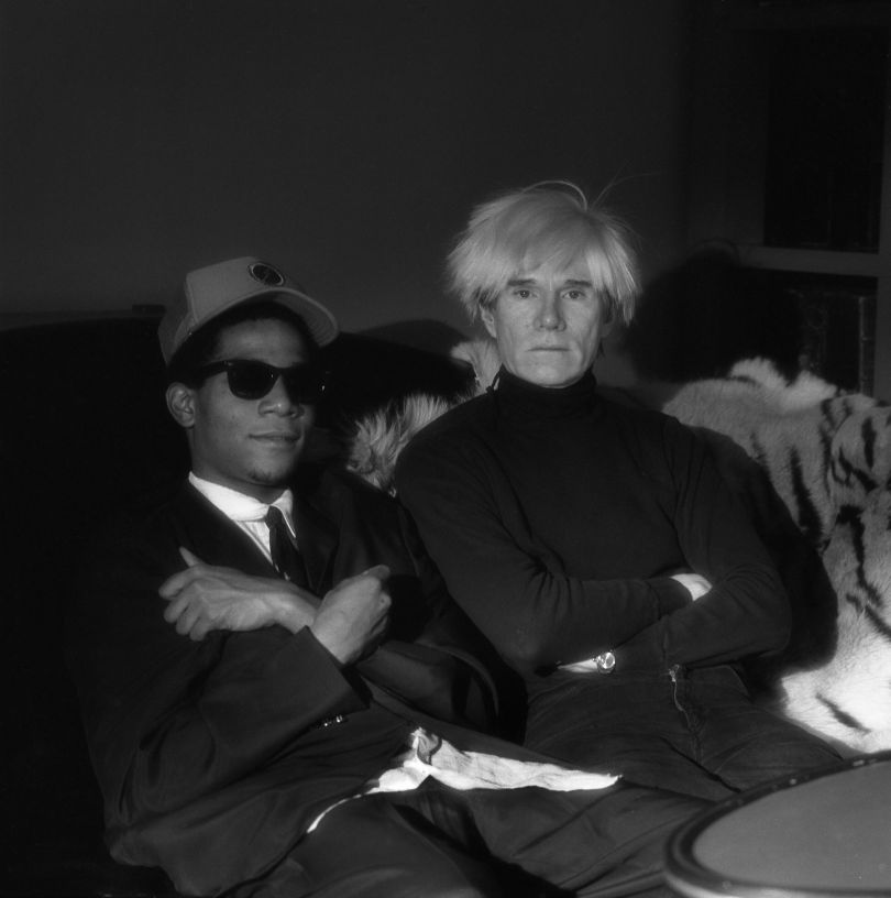 Andy Warhol and Jean-Michel Basquiat, N.Y.C., 1985 © Jeannette Montgomery Barron