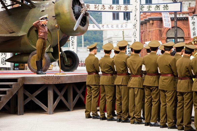 Military Rally Scene, Xiangshan Film and TV City, Ningbo © Mark Parascandola