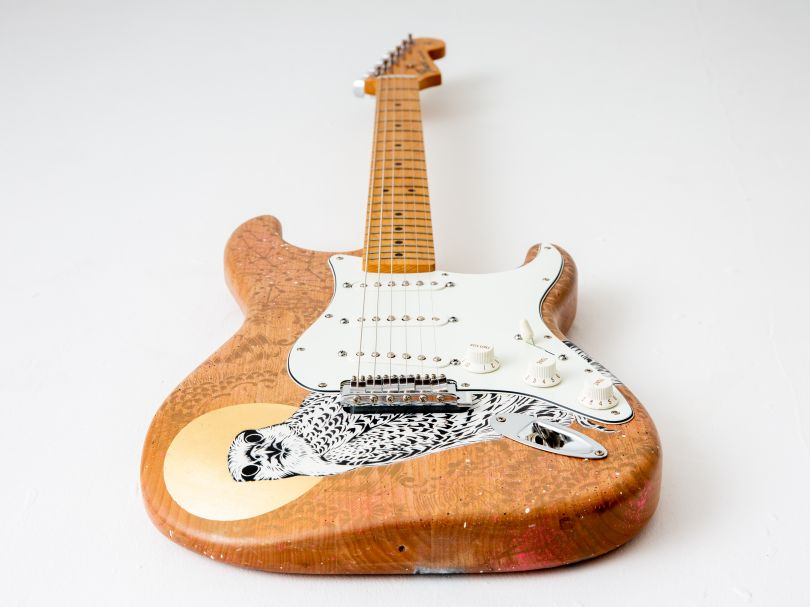 Guitar by Rugman. Image © Louise Haywood-Schiefer