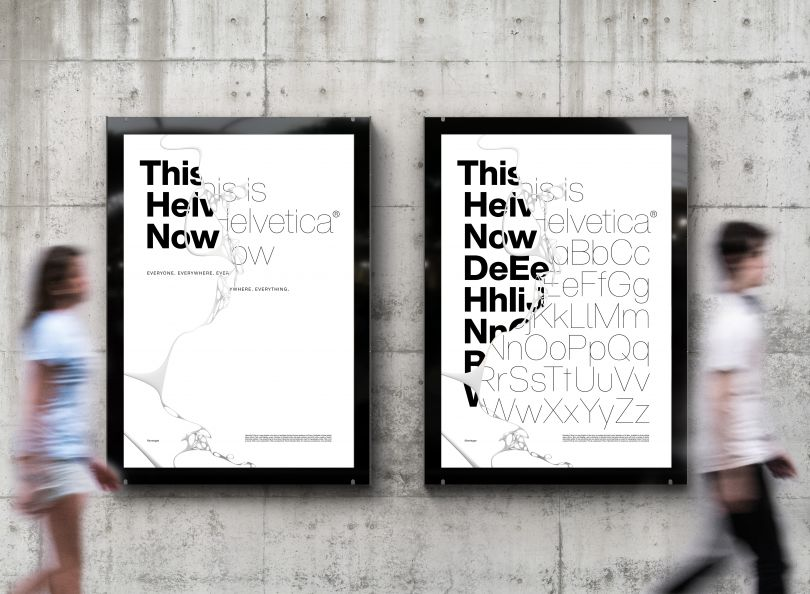 Helvetica Now by Monotype