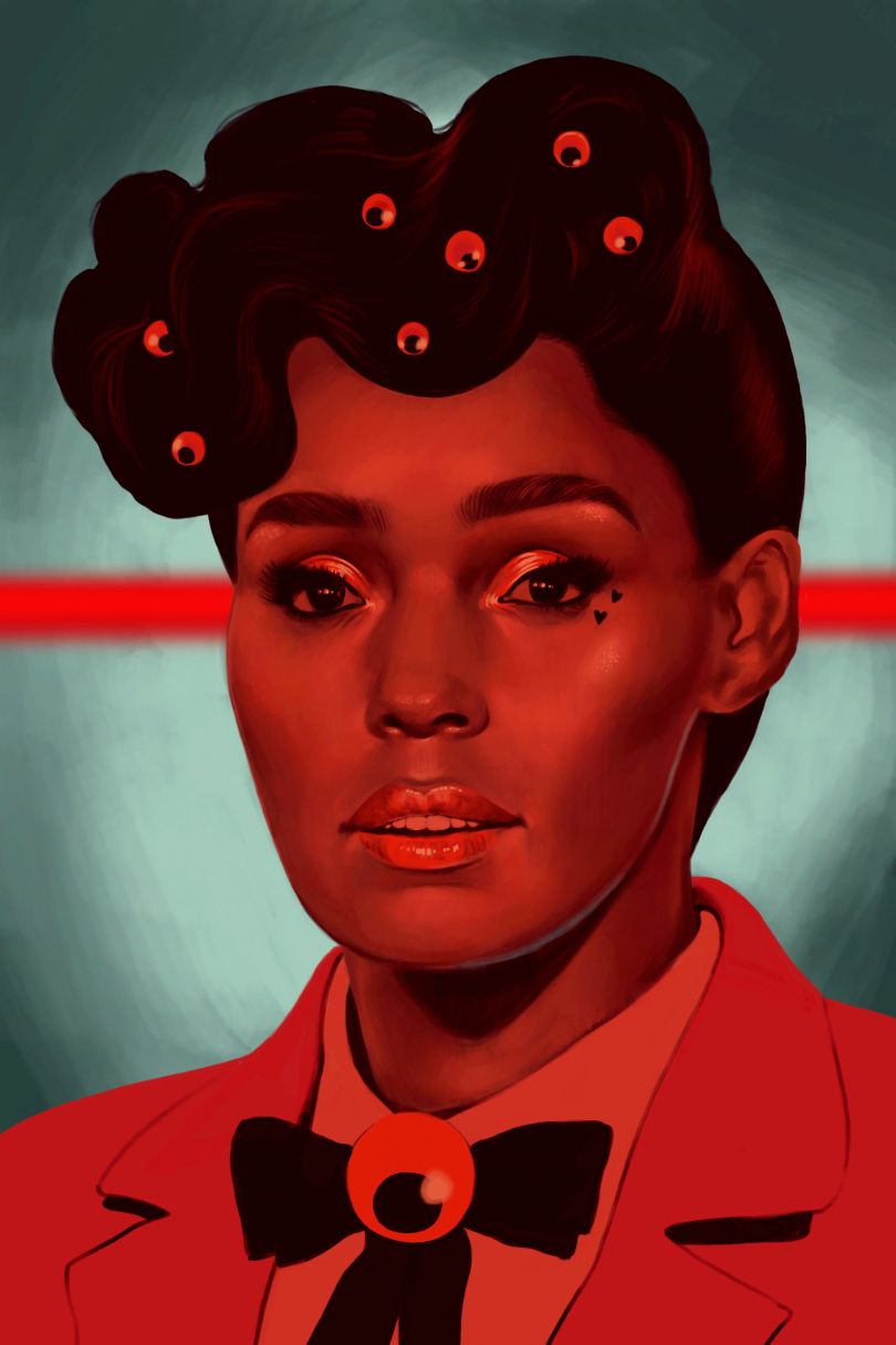 Janelle Monae, from Queer icons series