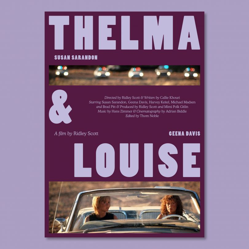 Theme, 'Road Movie' © Double Bill Posters, 2020