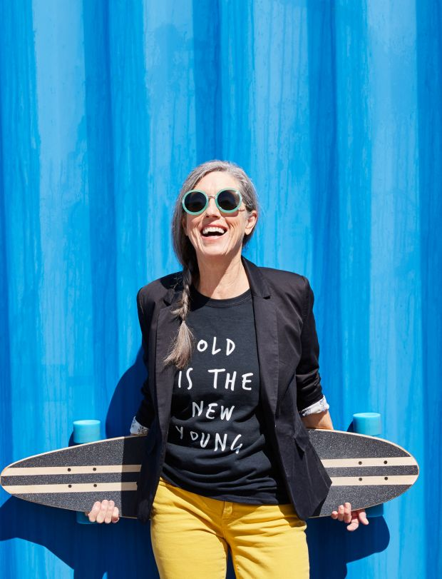 Adobe Stock: ID: [159058011](https://stock.adobe.com/images/hip-and-stylish-senior-woman-with-skateboard/159058011?prev_url=detail)