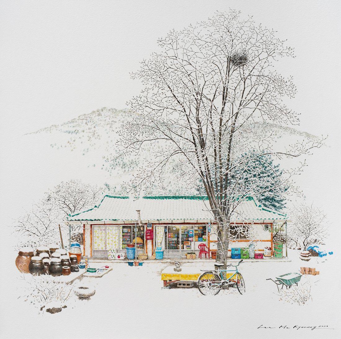 Musim dingin di Toji, 2020 © Me Kyeoung Lee
