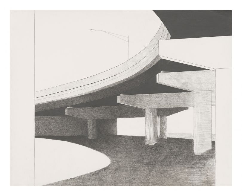 Allan D'Arcangelo Urban Landscape #1, 1976–1977