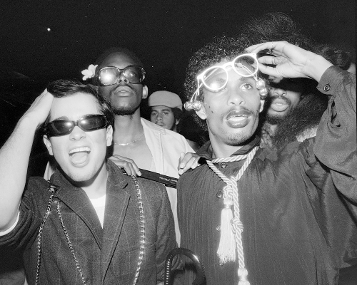 Eye Glasses on Opening Night, Xenon NY, June 1978 ©Meryl Meisler
