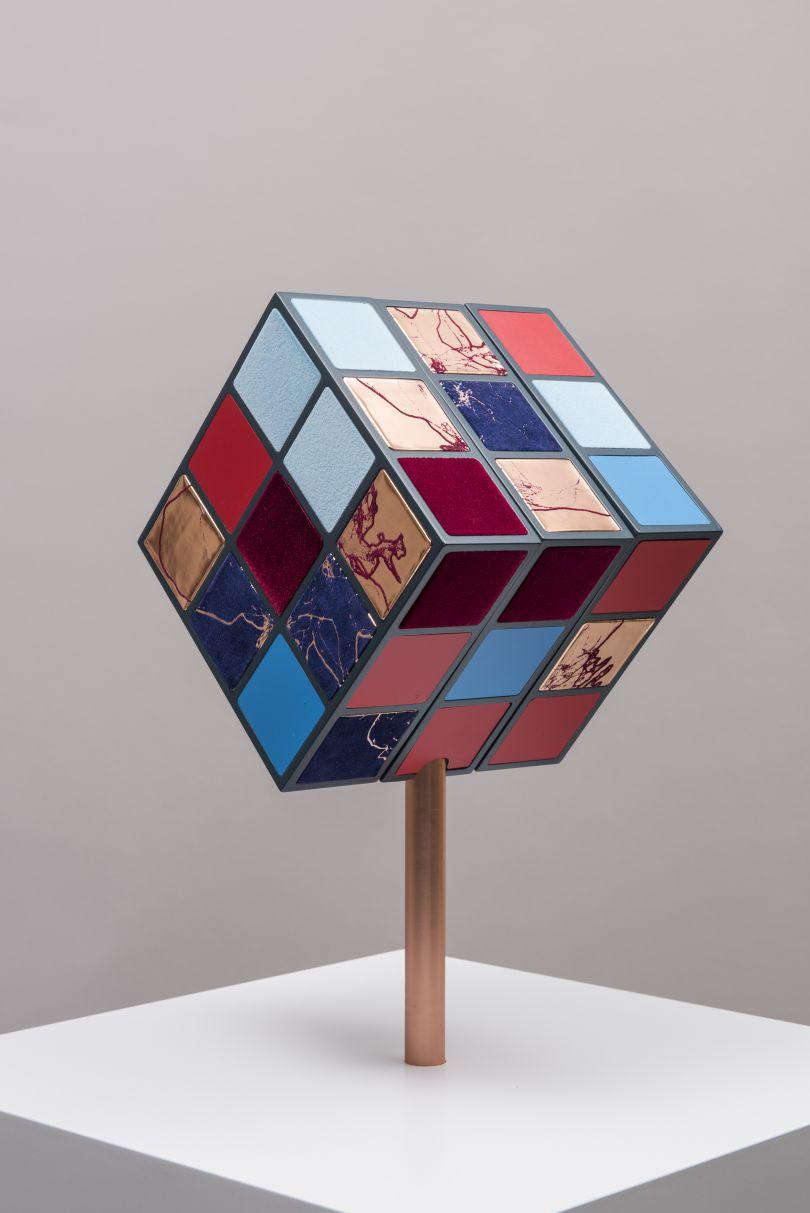 Rubik's Heart II, Sofie Layton (2018).