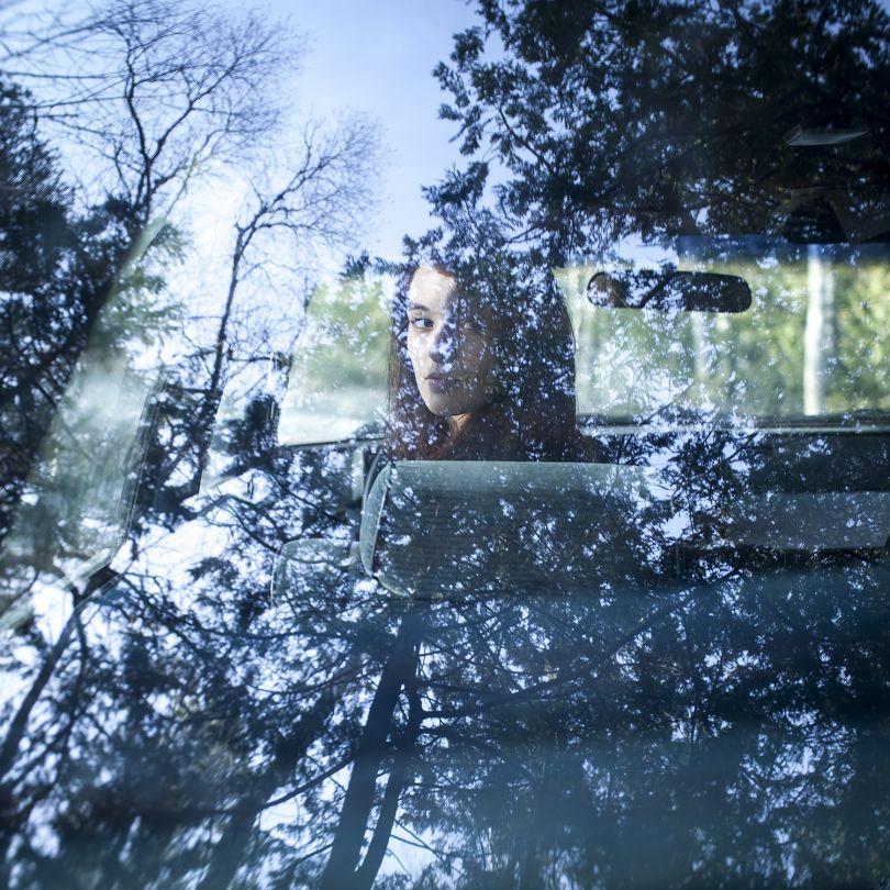 Kendall at Beauchamp, Rockport, Maine, 2014 © Cig Harvey courtesy Beetles + Huxley Gallery