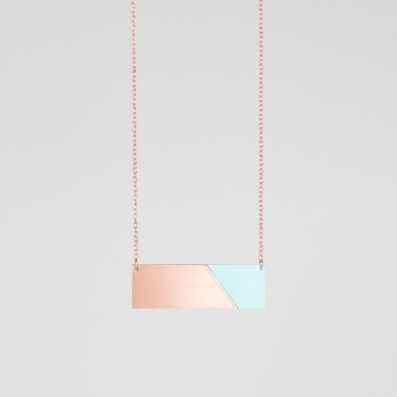 Form Bar Necklace