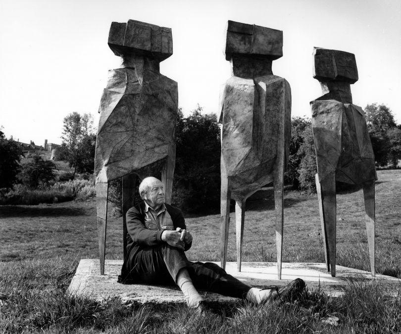 Anne Purkiss Lynn Chadwick, 1995. © Anne Purkiss