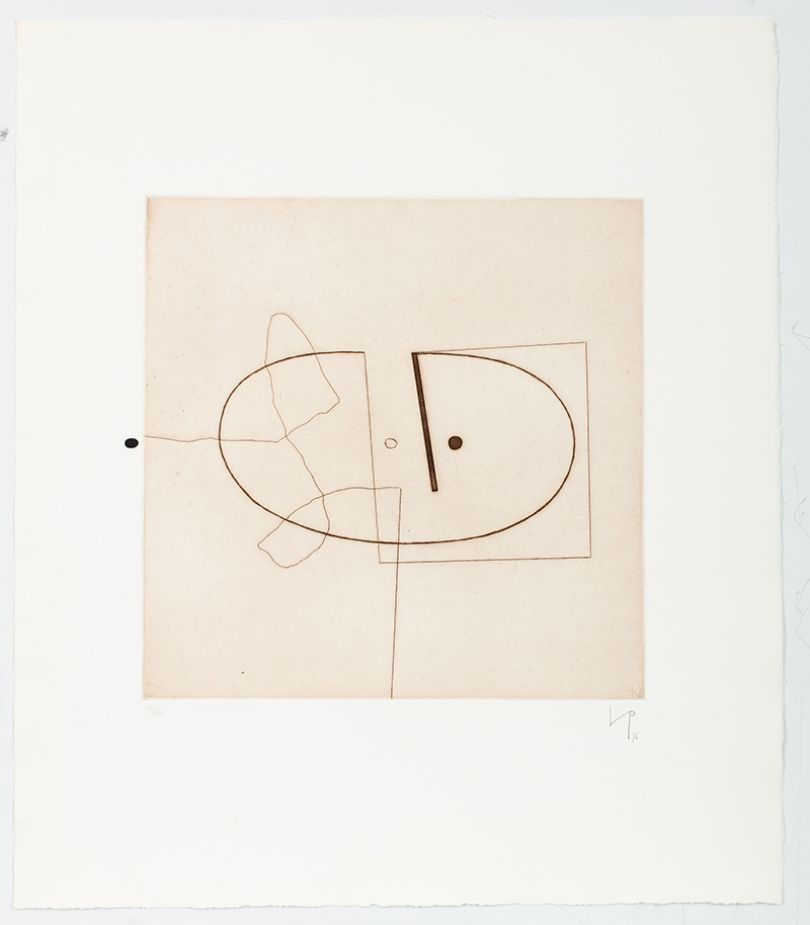 Victor Pasmore Linear Motif 7, 1976 etching and aquatint on paper Courtesy Marlborough Fine Art