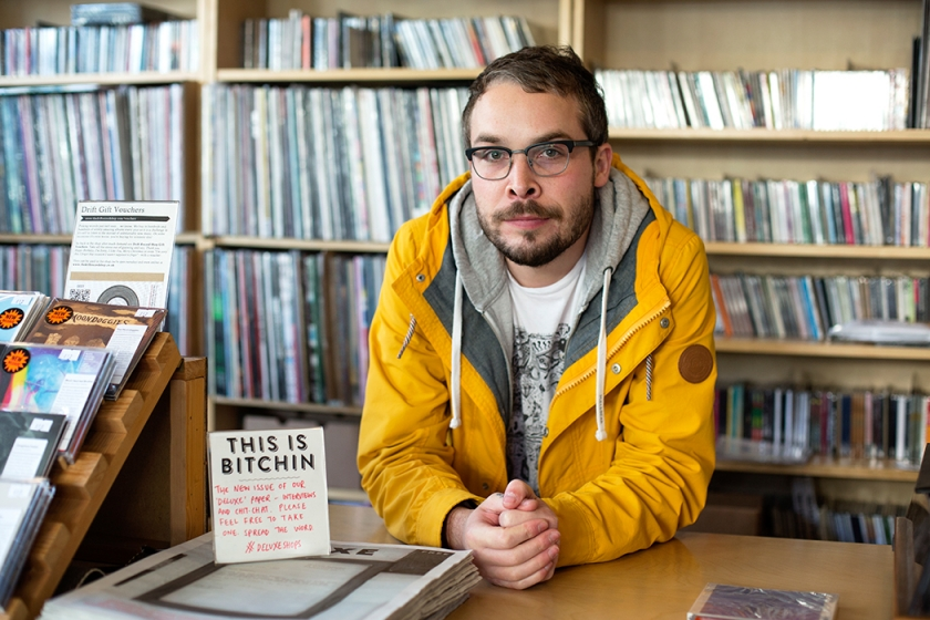 Rupert Morrison – who runs the record shop Drift, Totnes, Devon