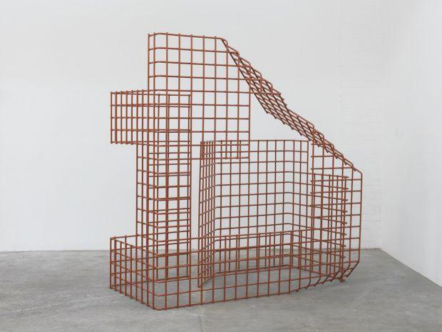 Breathing Squares, 2015, Zinc & coated steel, Unique, 250 x 188 x 99 cm, POA