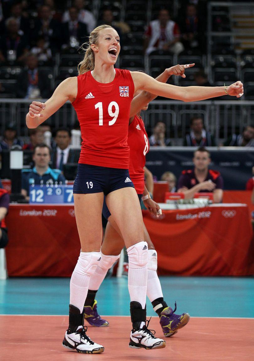 Ciara Michel at the Olympics
