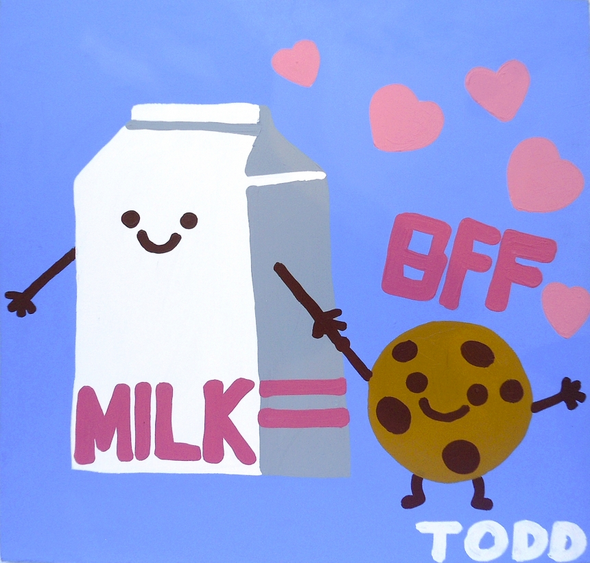BFF Milk & Cookies | © Todd Goldman