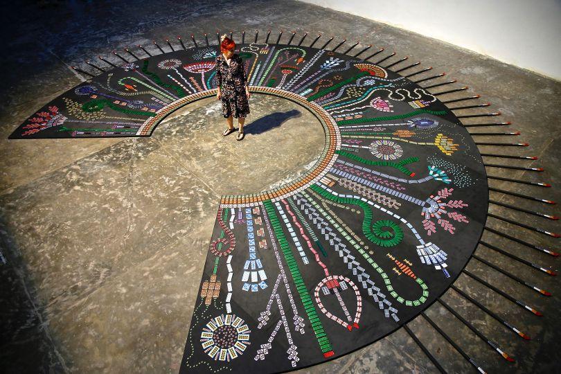 WOWI installation at INVENTO exhibition in Sao Paulo Brazil © Susie Freeman. Photography by Joana França