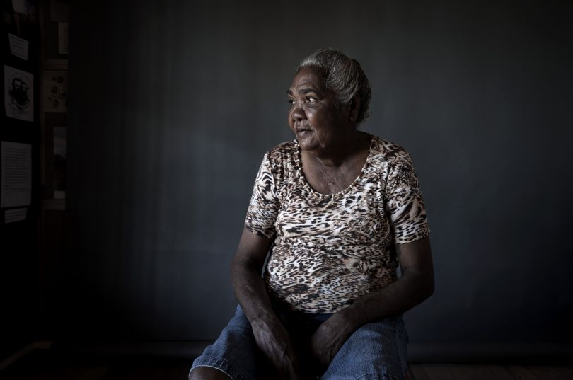 Merna Beasley, Kurtijar Woman from the series Tribute to Indigenous Stock Women by David Prichard © David Prichard