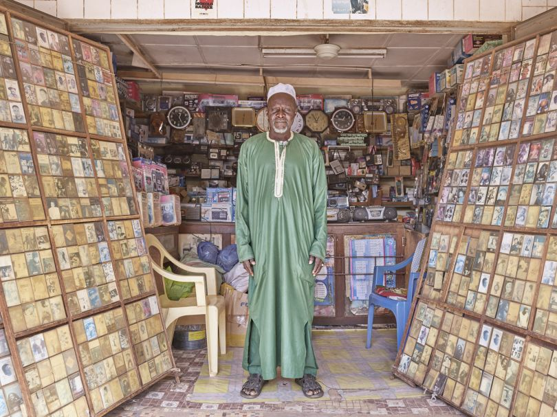 Bassirou Ndao - Music Shop Owner © Giovanni Hänninen