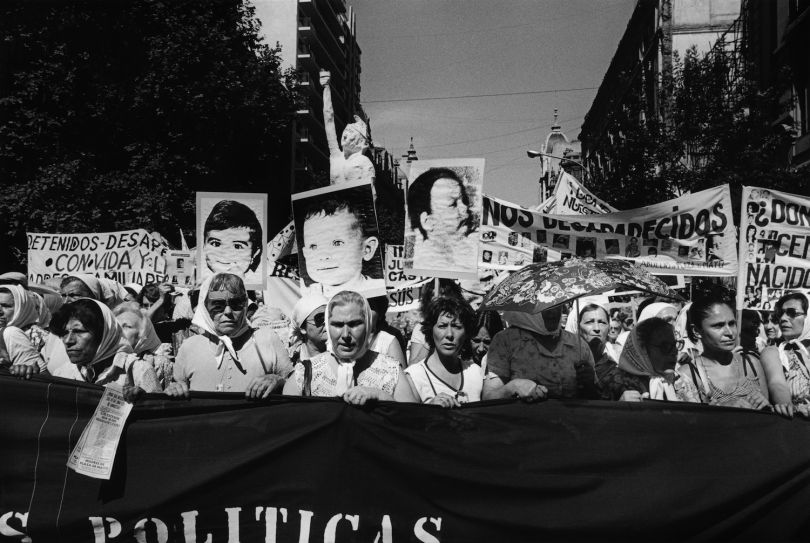 Eduardo Gil_ninos Desaparecidos, Segunda Marcha De La Resistencia, Buenos Aires, 1982