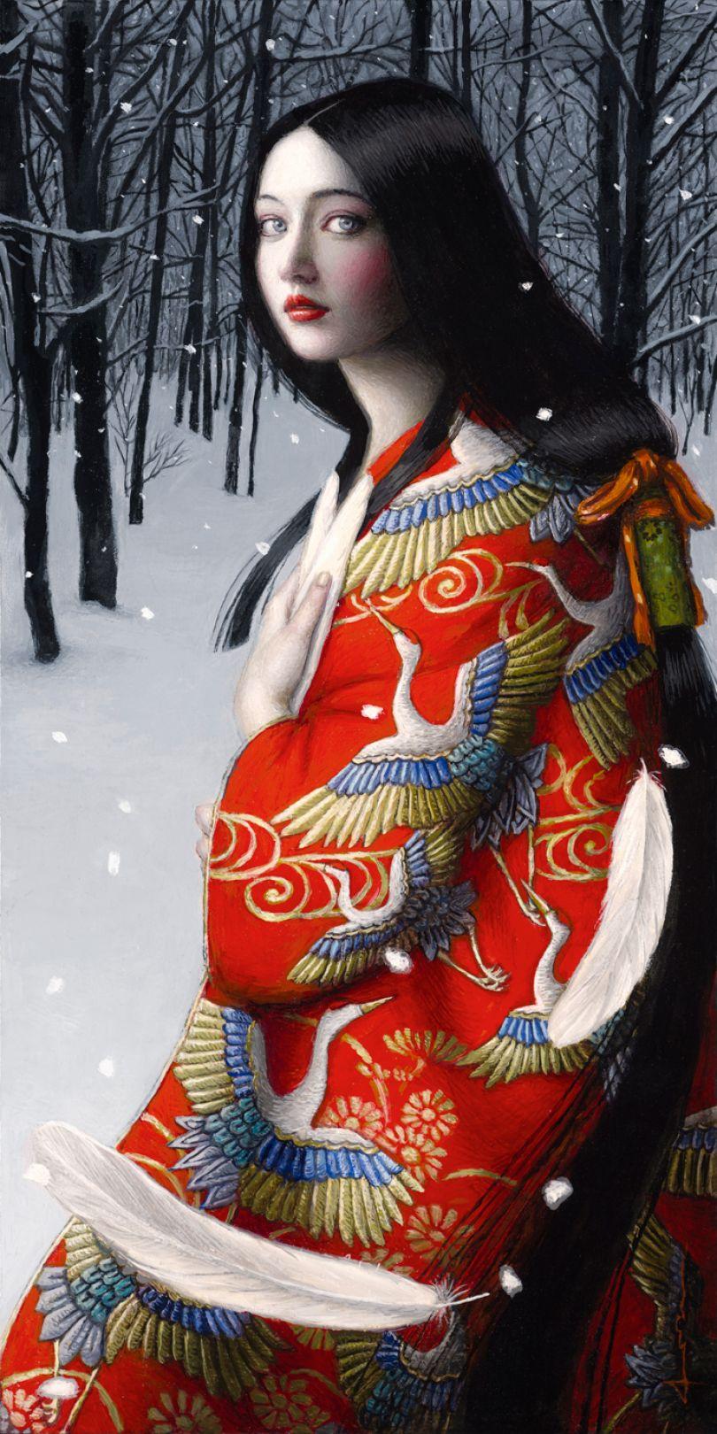 Tsuru no Ongaeshi, 2020 © Chie Yoshii