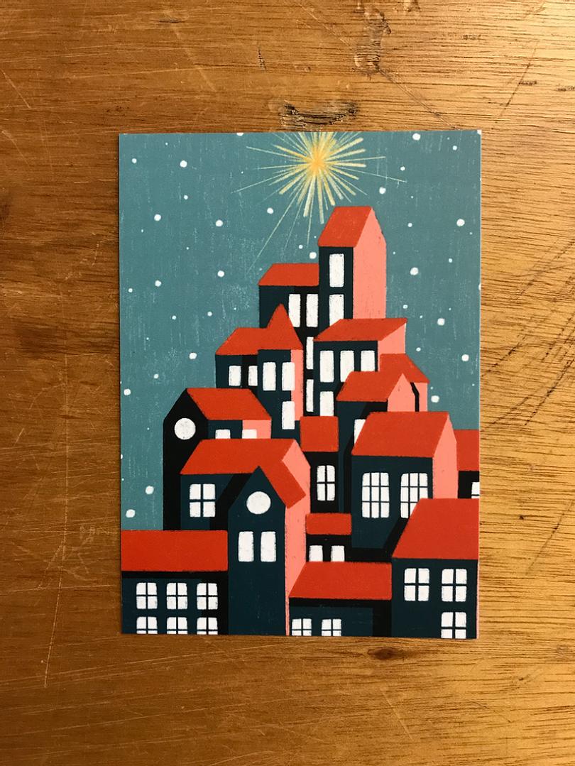 Christmas card by Iris van den Akker