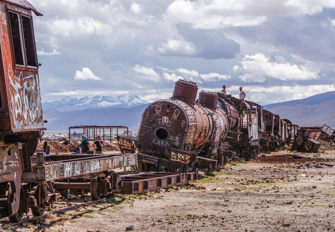 2017 Shortlist - Pamela Jones - Train Cemetery, Bolivia