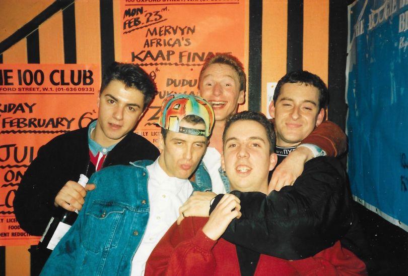 Revellers at the Nite Raid Club Night, 1986 by Gary Haisman