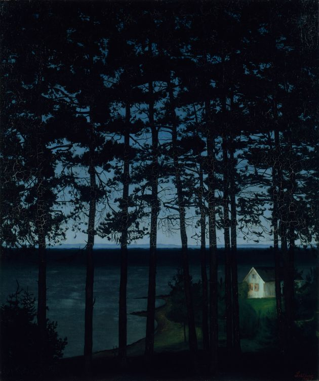 Harald Sohlberg, Fisherman's Cottage, 1906, Art Institute of Chicago, Gift of Edward Byron Smith