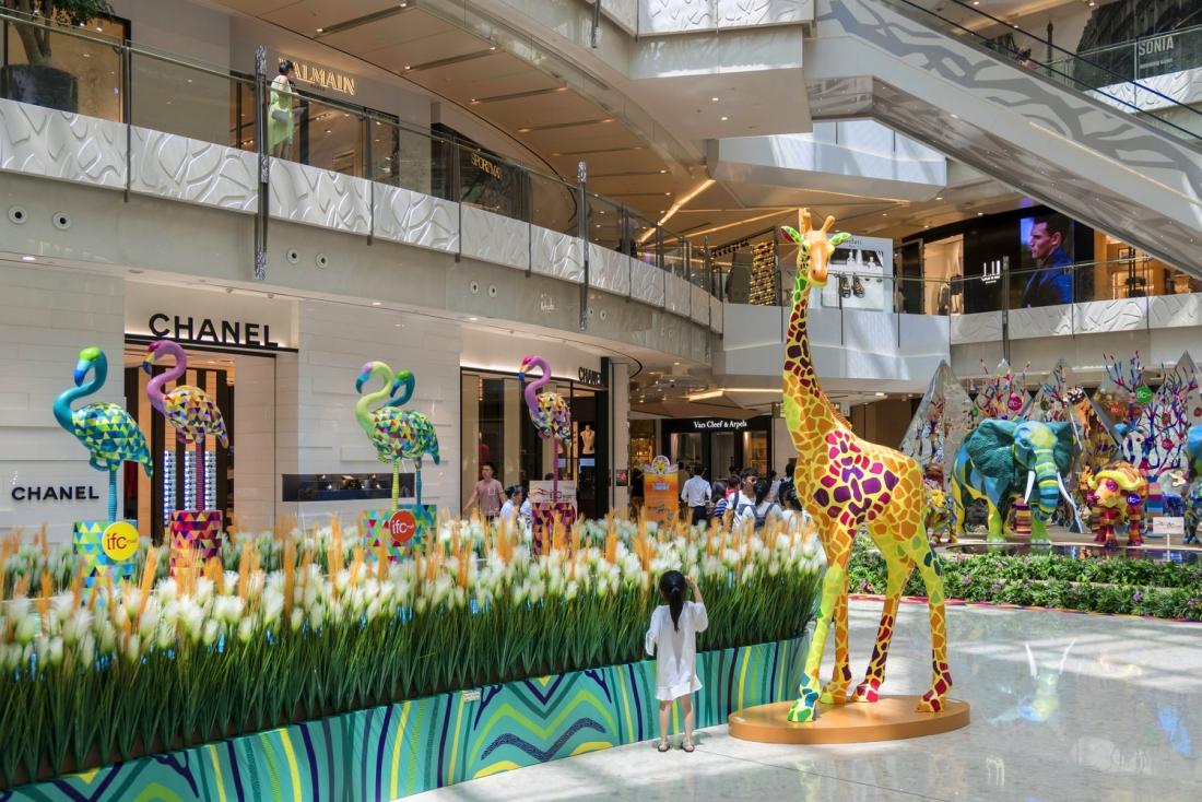 "IFC Mall Shanghai ""Summer Supreme Animal Kingdom"""