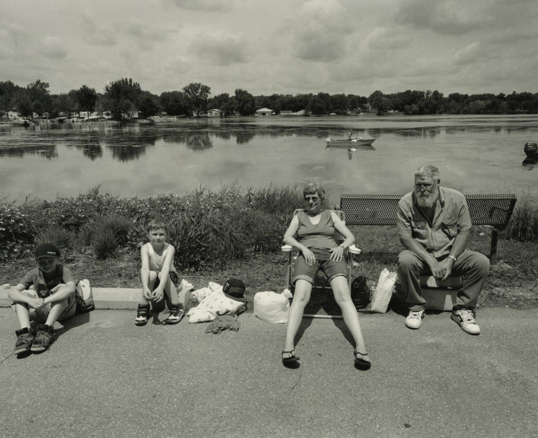 Family, Bullhead Days, Waterville, Minnesota, June 2015 | Images copyright Tom Arndt, courtesy Howard Greenberg Gallery