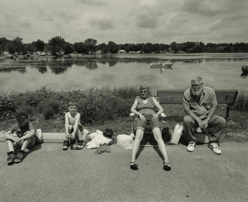 Family, Bullhead Days, Waterville, Minnesota, June 2015 | Images copyright Tom Arndt, courtesy Howard Greenberg Gallery