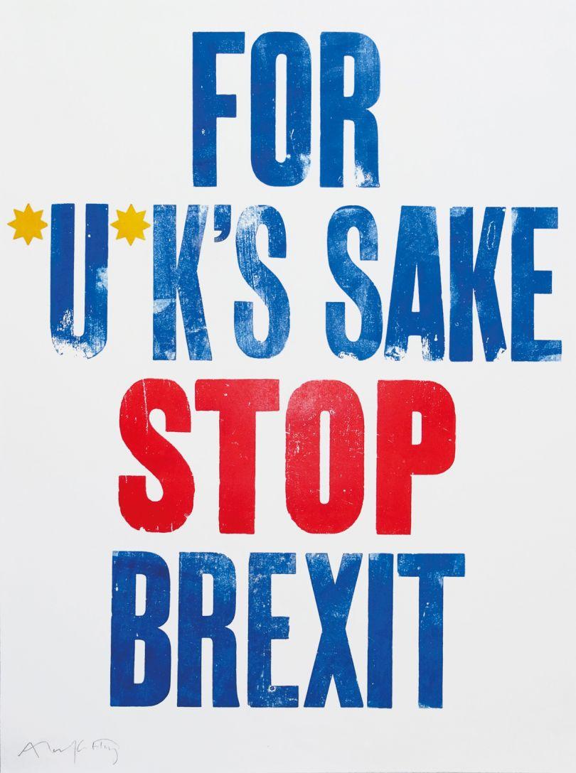 For *U*K's Sake Stop Brexit © Alan Kitching