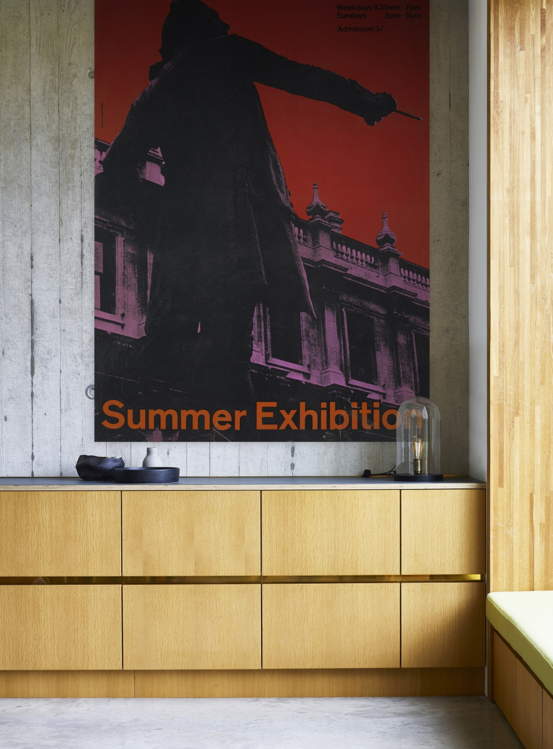 RA summer Exhibition 1963 Epic Poster ​from the Royal Academy of Arts Collection
