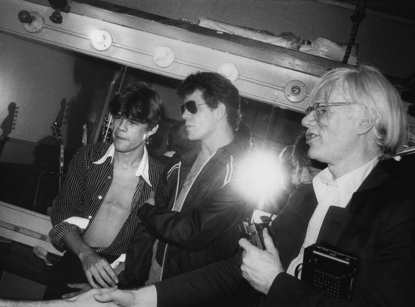David, Lou and Andy © Gary Green, from the book When Midnight Comes Around published by STANLEY/BARKER