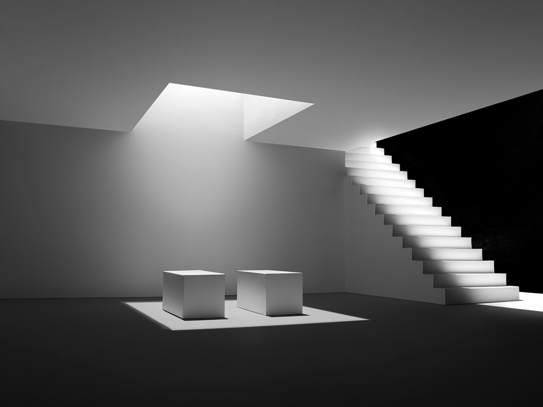 shadow spaces miniature architecture crafted from paper looks like